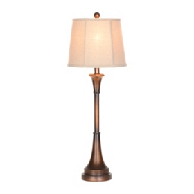 Oil Rubbed Bronze Buffet Lamp