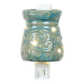 Blue Skies Tart Burner Night Light