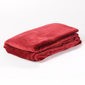 Red Luxury Plush Throw Blanket