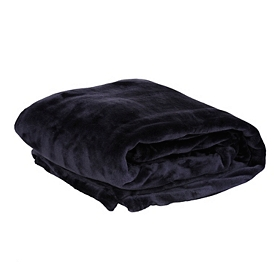 Plum Luxury Plush Throw Blanket