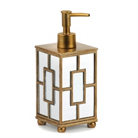 Gold Mirrored Soap Pump