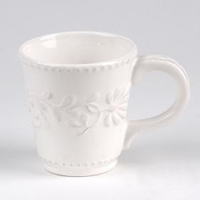 Bianca Leaf Beverage Mug