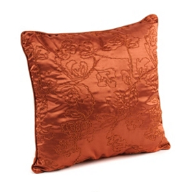 Spice Corded Vine Accent Pillow