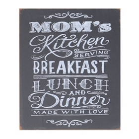 Mom's Kitchen Wall Plaque