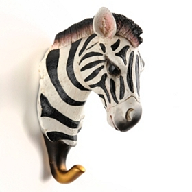 Zebra Wall Hook