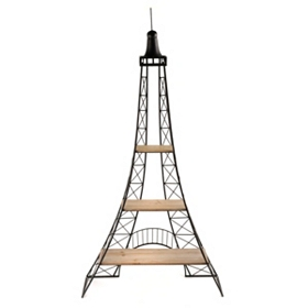 Eiffel Tower 3-Tier Shelving Unit