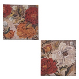 Vintage Floral Canvas Art Prints