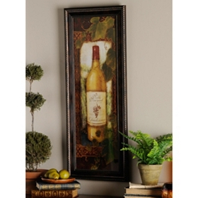 Noble Vineyard II Framed Art Print