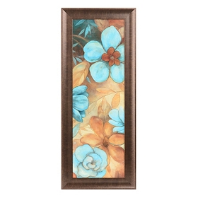 Blue Blossoms I Framed Art Print