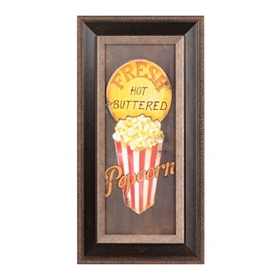 Fresh Popcorn Framed Art Print