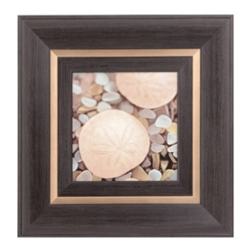 Coastal Sea Glass II Framed Art Print
