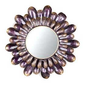 Blakely Purple Mirror, 30 in.