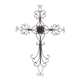 Heavenly Cross Wall Plaque