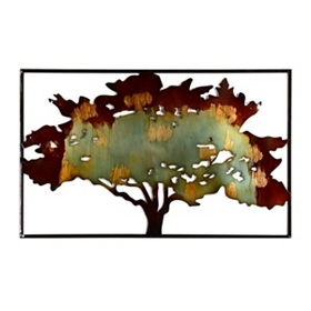 Arbol Metal Wall Plaque