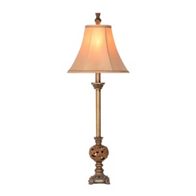 Hampton Brown Buffet Lamp