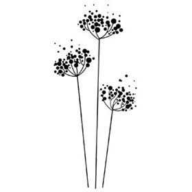 Bubble Flowers Wall Decal