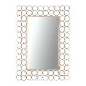 Interlocking Rings Frame Mirror, 35x49