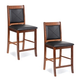 Lenox Mahogany Counter Stool, Set of 2
