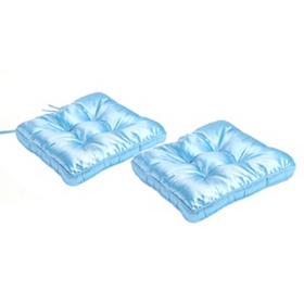 Blue Glitz Chair Cushion