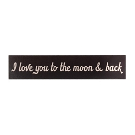 Love You To The Moon Wall Plaque