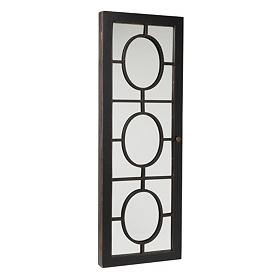 Bronze Panel Armoire Mirror
