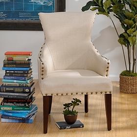 Amsterdam Ivory Arm Chair