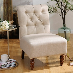Archipelago Ivory Slipper Chair