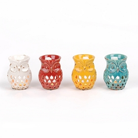 Colorful Owl Wax Warmers