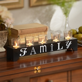 Family Votive Runner