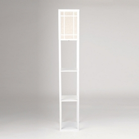 Cream Shelf Floor Lamp