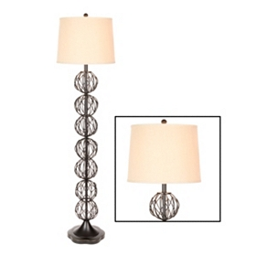 Metal Orbs Floor Lamp