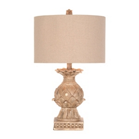 Golden Artichoke Table Lamp