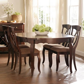 Corsica Dining Table with Leaf