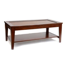 Davison Chestnut Wood Coffee Table