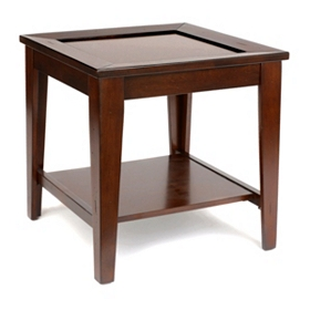 Davison Cherry Wood Accent Table
