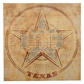 Lone Star State Canvas Art Print