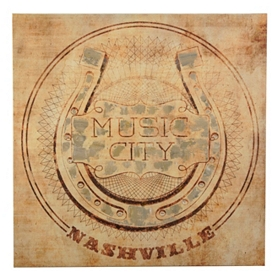 Music City Canvas Art Print
