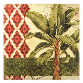 Thai Palm Tree Canvas Art Print