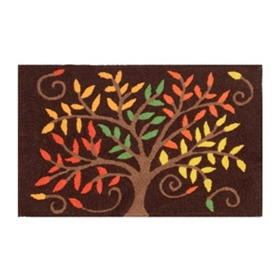 Autumn Tree Accent Rug