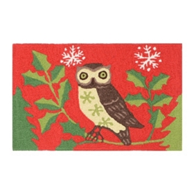 Happy Owlidays Accent Rug