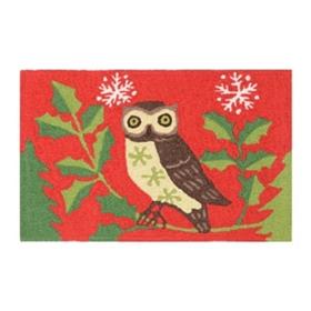Happy Owlidays Accent Rug