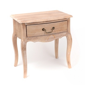 Modena Natural Wood End Table