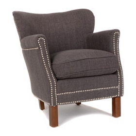 Claire Brown Arm Chair