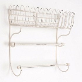 Abby Metal Wall Shelf
