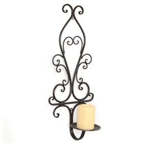Scrolled Wall Sconce