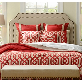 Red Gatehill 8-pc. Queen Comforter Set
