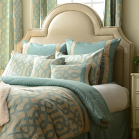 Aqua Gatehill 8-pc. Queen Comforter Set
