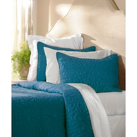 Teal 3-pc. Queen Quilt Set