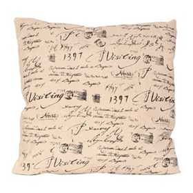Ephemera Pillow