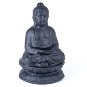 Meditating Buddha Dolomite Statue